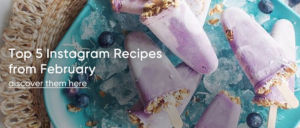 Top 5 Instagram Recipes from Feb