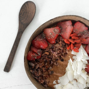 Chocolate Smoothie Bowl