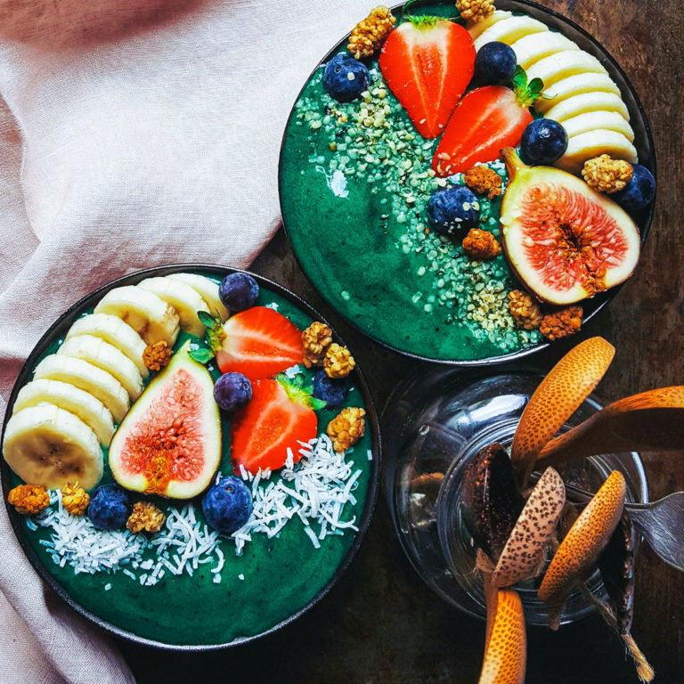 Ocean Green Smoothie Bowl